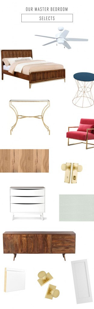 Ashley is revealing her master bedroom design scheme, with tons of pattern and some mid-century modern flair!