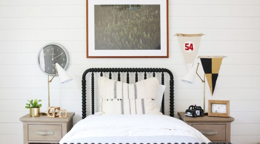 Studio McGee incorporates Metrie Complete Pre-Painted Shiplap.