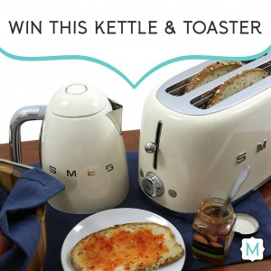 Win this toaster and kettle from Metrie in their My Dream Option {M} Pinterest Contest!