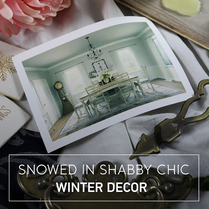 Snowed In Shabby Chic Winter Decor Pinterest board