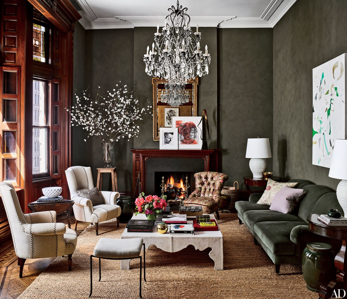 Jessica Chastain's NYC apartment has magnificent interior trim in spades!