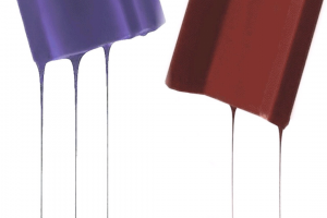 Pantone®'s Color of the Year, Ultra Violet , and Benjamin Moore's Color of the Year, Caliente