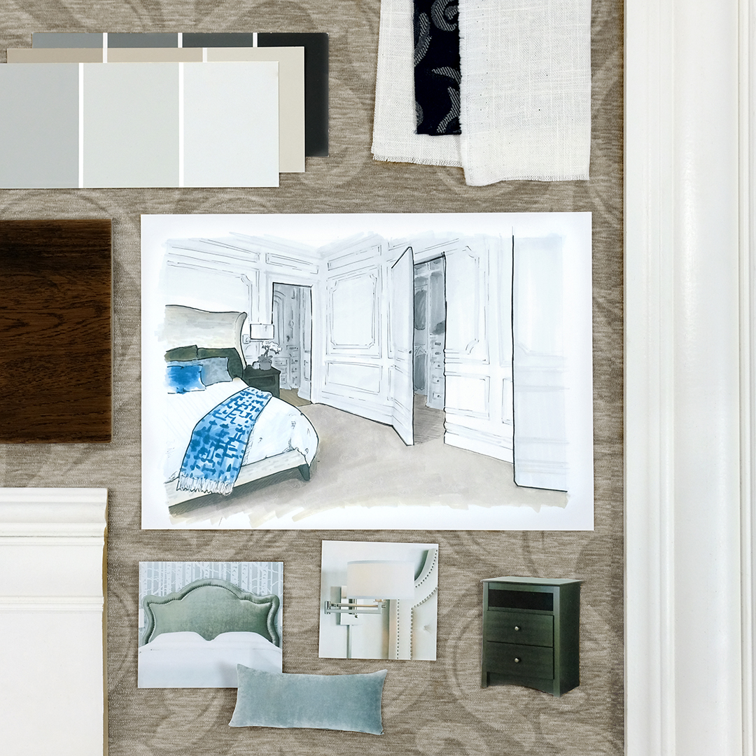 Metrie is celebrating Jenny Martin, the grand prize winner of the Every Room Tells A Story — 2017 Builder & Designer Challenge. Get a closer look at this gorgeous master bedroom which highlights Metrie's Fashion Forward interior finishings.