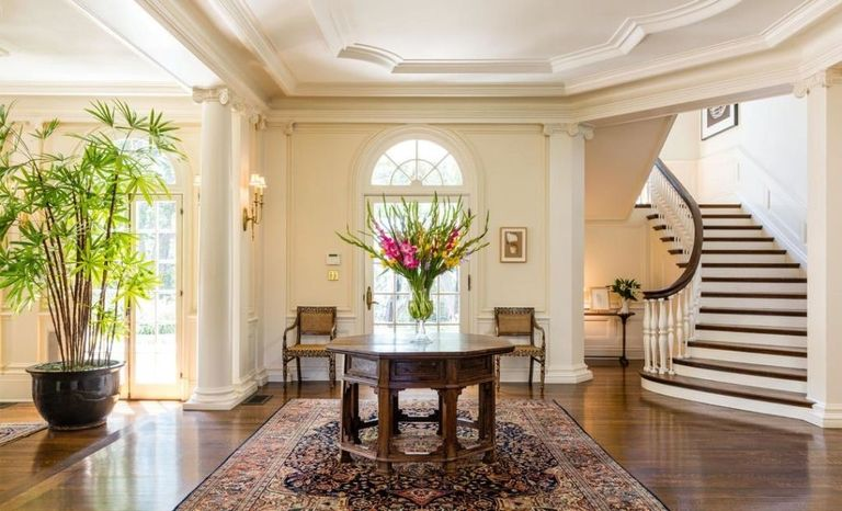 Angelina Jolie puts an offer on a fabulous house with plenty of trim.