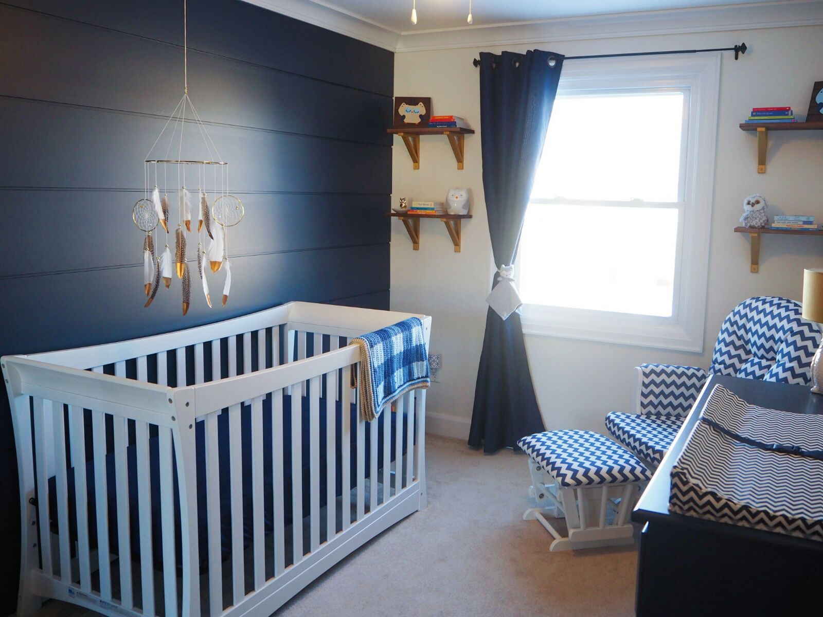 An Enchanting Owl Themed Nursery