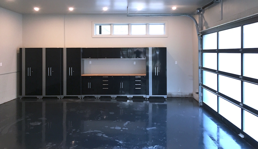 Bryan and Sarah Baeumler fashioned a sleek garage for their client on the season's finale of 'Bryan Inc.'