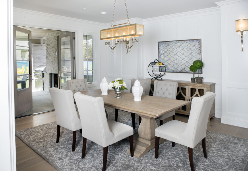 Calista Interiors reveals a wow-worthy dining room, full of interior finishings