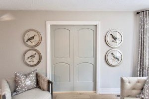 Metrie's French Curve doors make an appearance in this home makeover, on Bryan Inc.