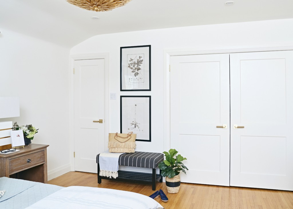 Jennifer, of Rambling Reno, reveals her master bedroom for the One Room Challenge