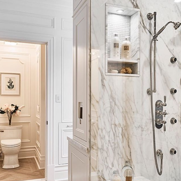 A breath-taking bathroom, designed by Jenny Martin Design