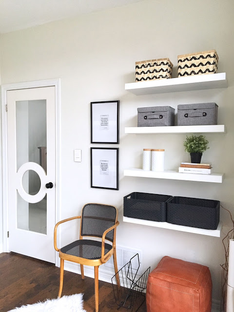 Harlow & Thistle incorporates Metrie's Fashion Forward door in her home office