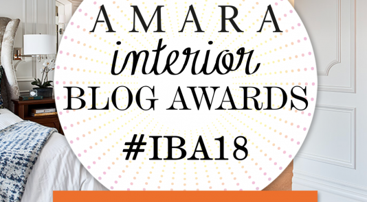 Metrie's company blog, The Finished Space, has been nominated for Best Company Blog, for the Amara Interior Blog Awards