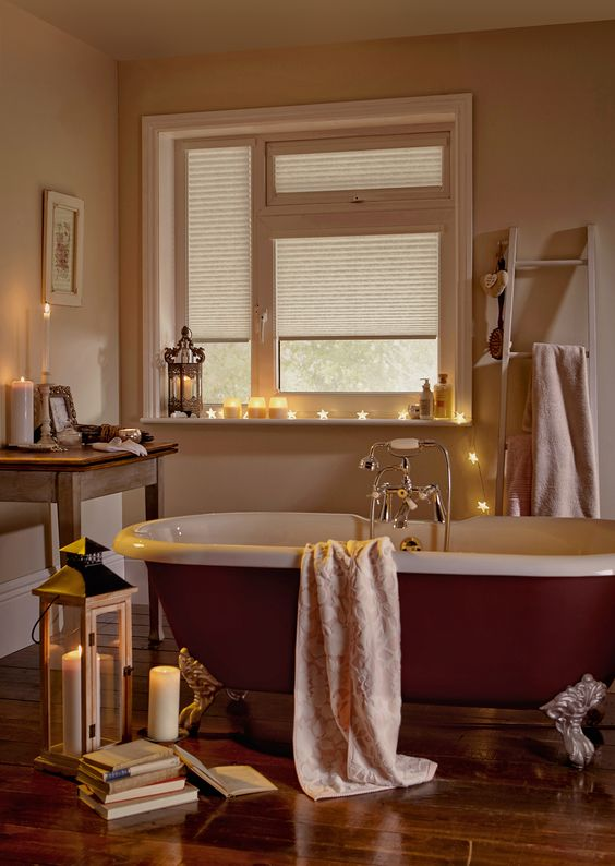 A hygge-inspired bathroom