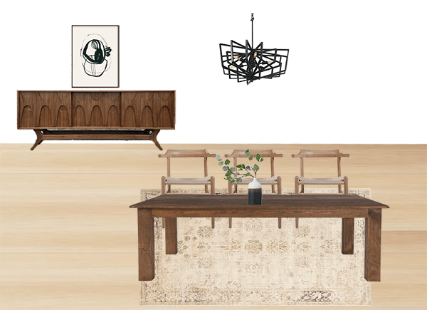 Brepurposed's dining room rendering