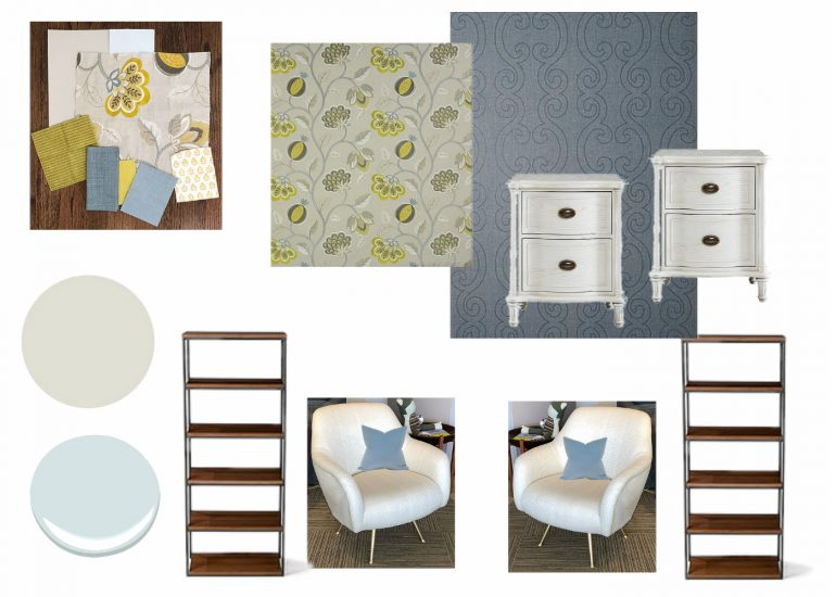 Linda Holt shares the moodboard for her One Room Challenge space