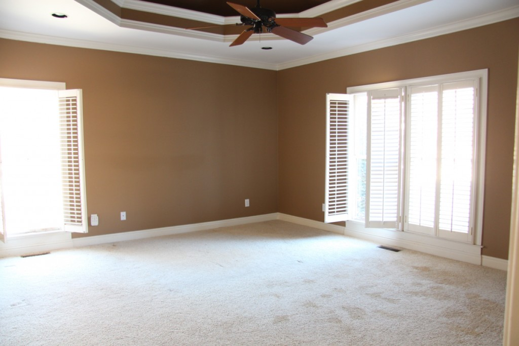 Leslie Davis shares her master bedroom before shot