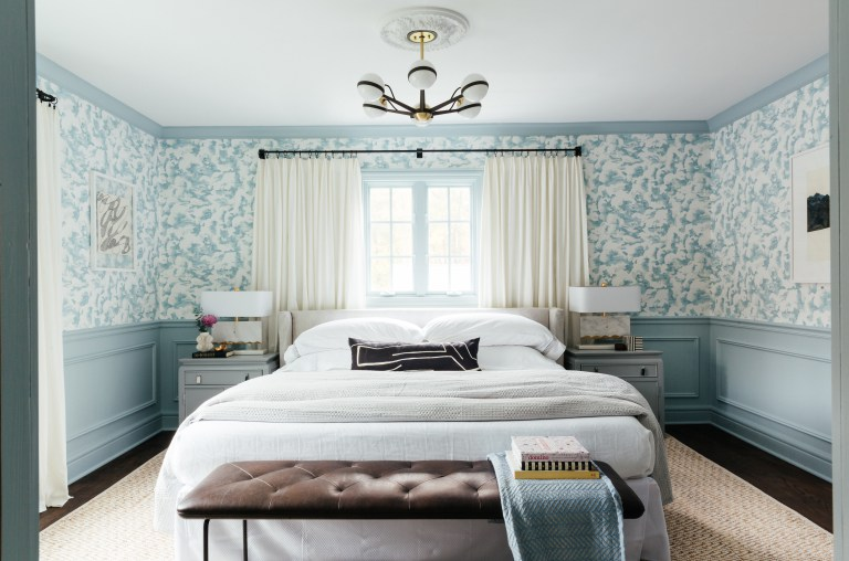 Erin Kestenbaum's master bedroom reveal for the One Room Challenge