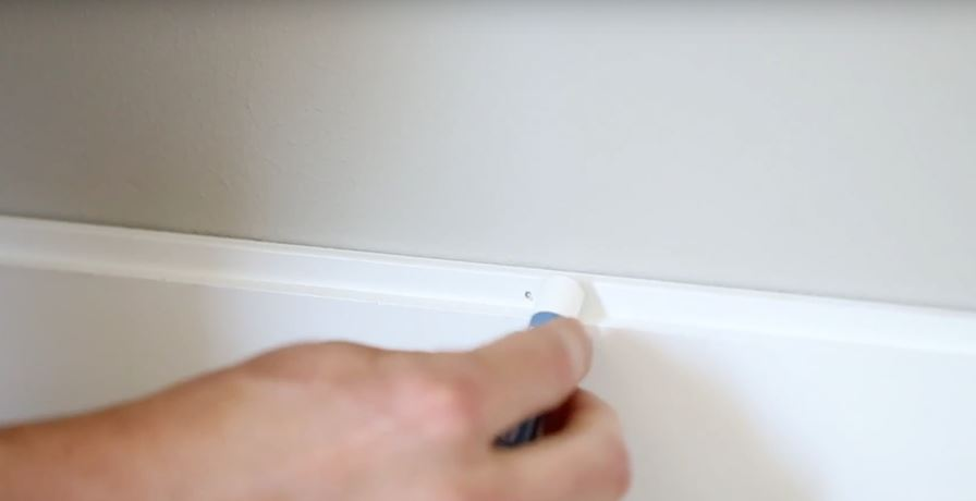 Use Metrie Complete wax stick to seal holes