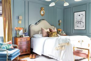 These One Room Challenge spaces are boasting Metrie trim