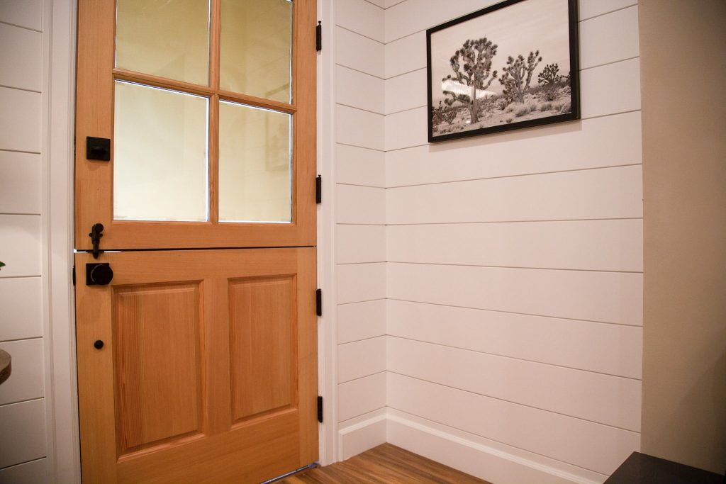 Metrie's baseboard and casing make an appearance in this reveal by Nate & Jeremiah