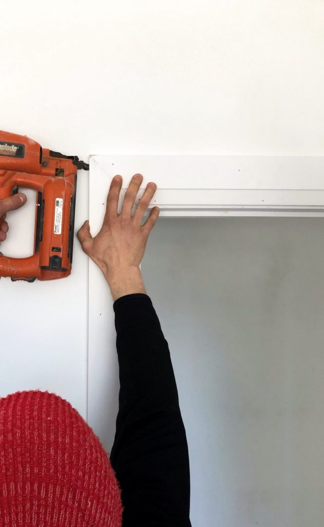 How to install door casing with Ecnomus Construction Group