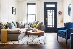 Metrie rounded up stylish Airbnbs boasting trim