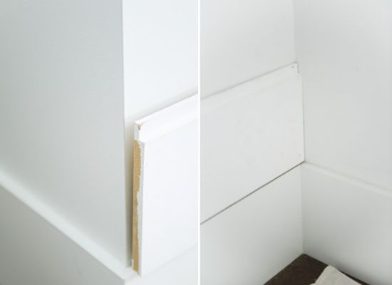 Navigating corners when installing shiplap