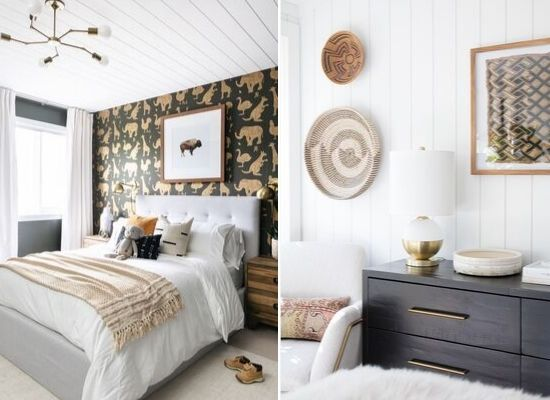 Beautiful shiplap spaces, courtesy of Leclair Decor and Brittany Makes