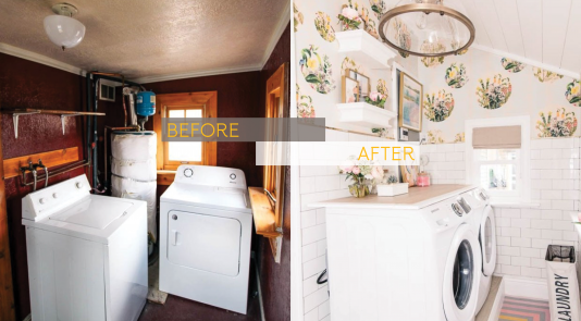 Check out these before and after photos, brought to you by Metrie
