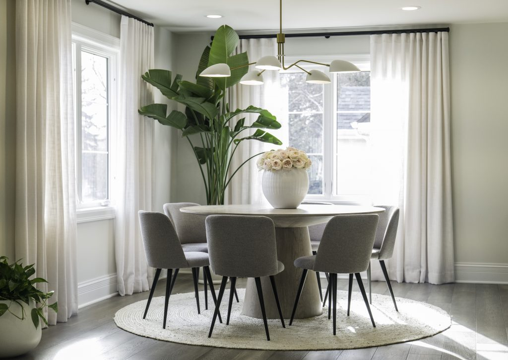 Redesigned dining area from episode 3 of Celebrity IOU