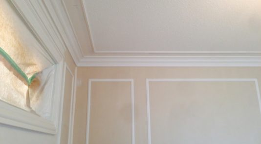 Paint Trim Before or After Installing