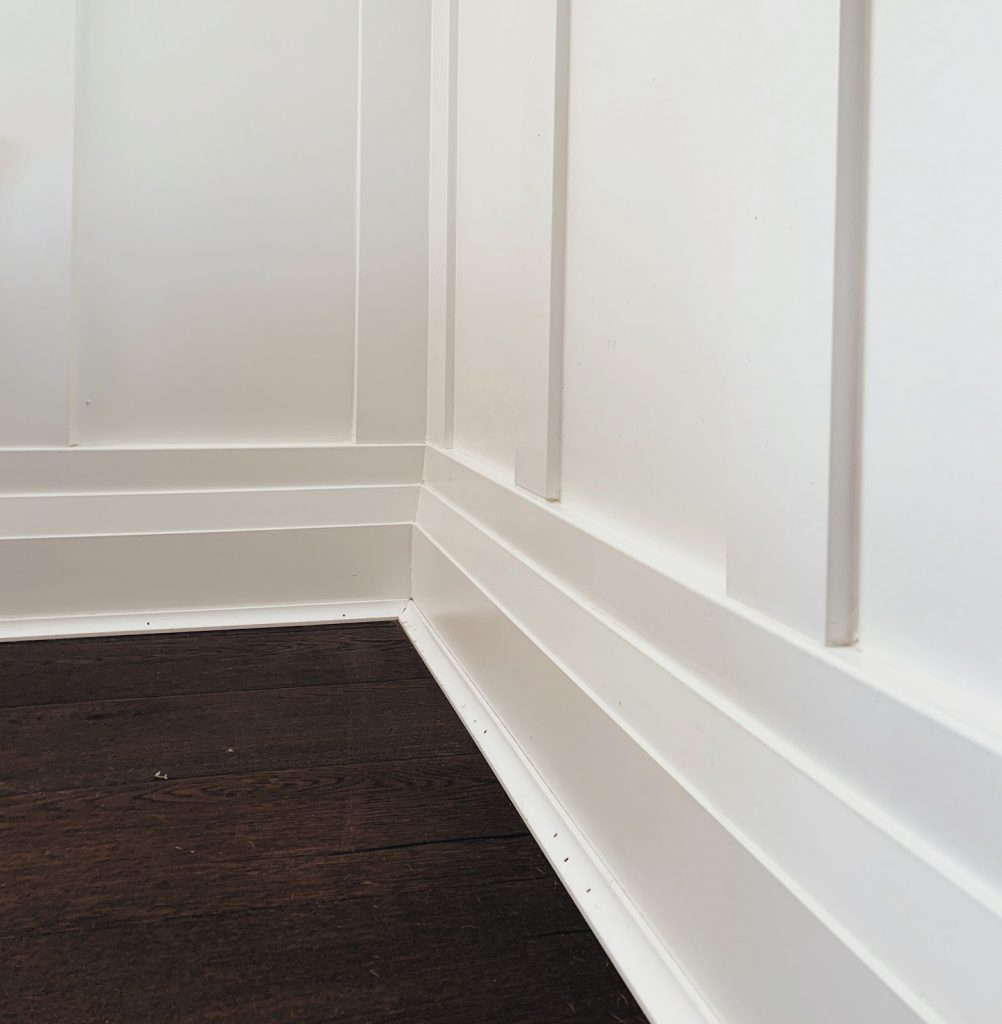 There are many advantages to MDF baseboards
