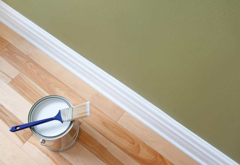 Should You Paint Trim Before or After Installing?