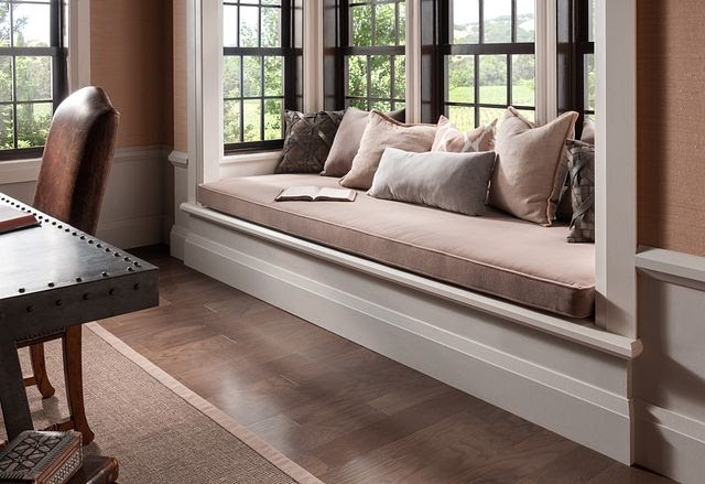 Create Seating with Bay Window Sills