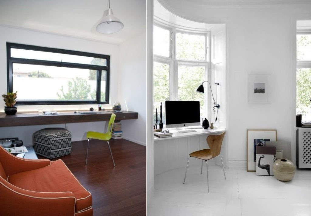 Create a Desk out of a Window Sill