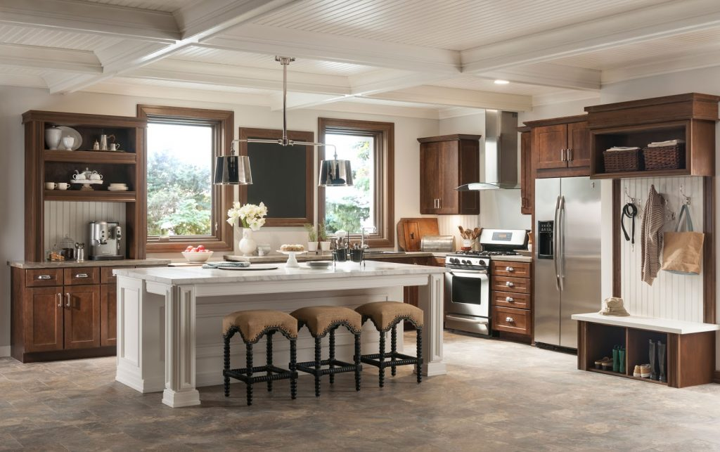Match Natural Wood Cabinets