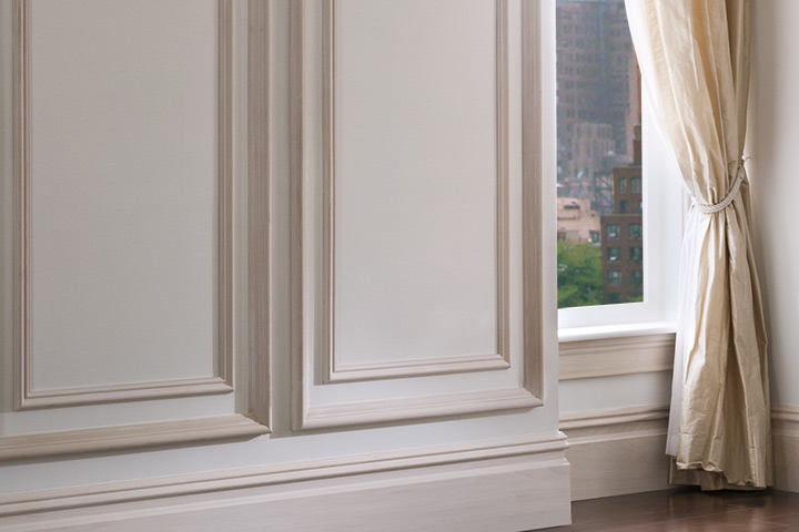 An Architrave Was Inverted And Installed As A Under The Existing Window Stool