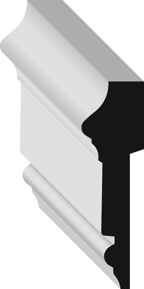Metrie 77 Chair Rail
