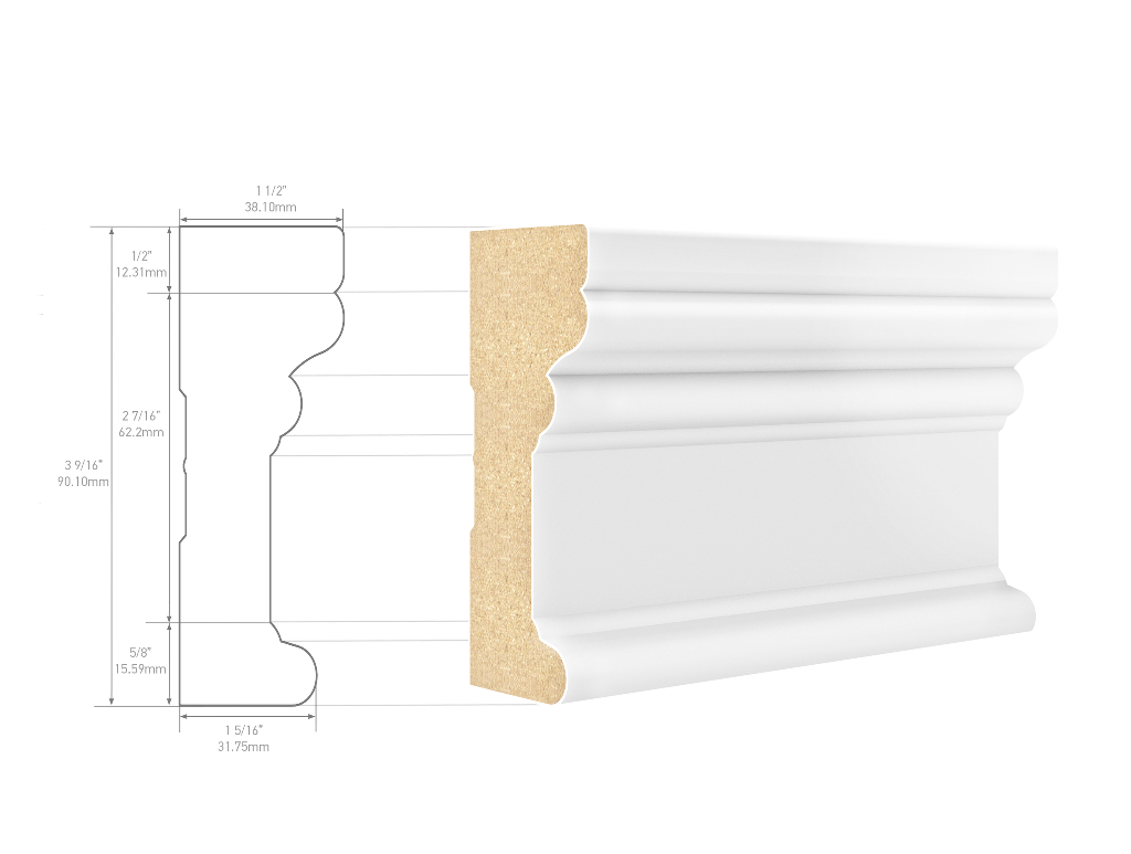 Metrie CFF2A1PMD08 Architrave