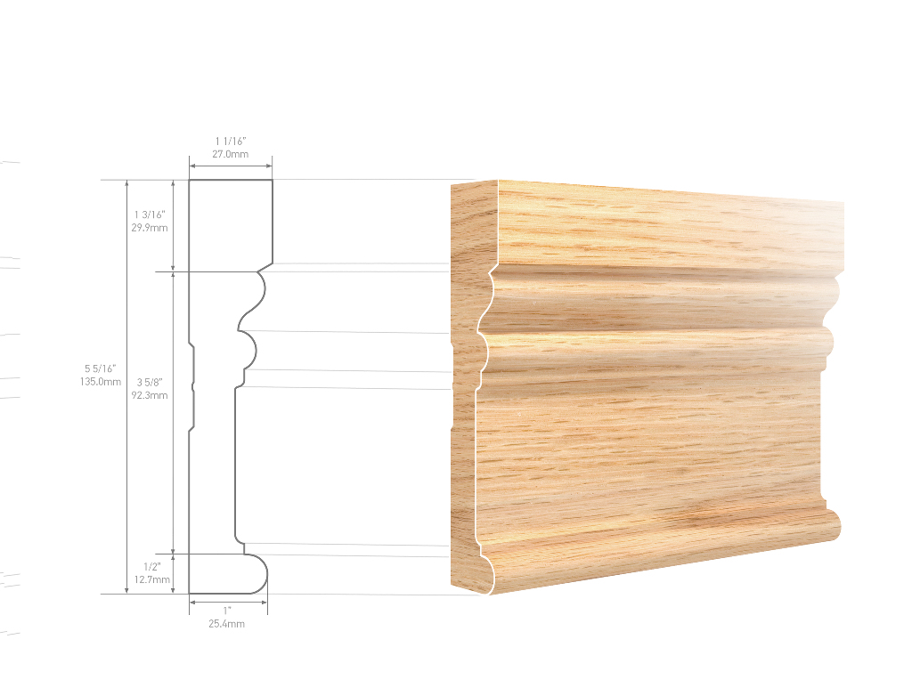 Metrie CPS2A1SRO Architrave