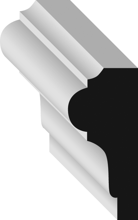 Metrie MFJ534-08 Chair Rail